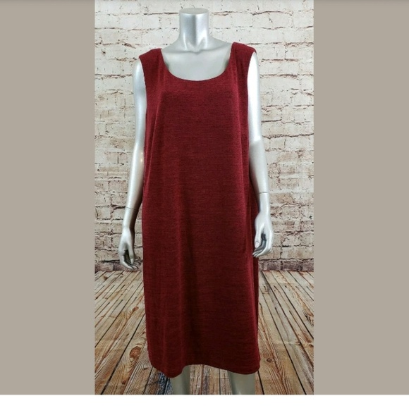 CJ Banks Sleeveless Dress Womens Plus Size 24W NWT